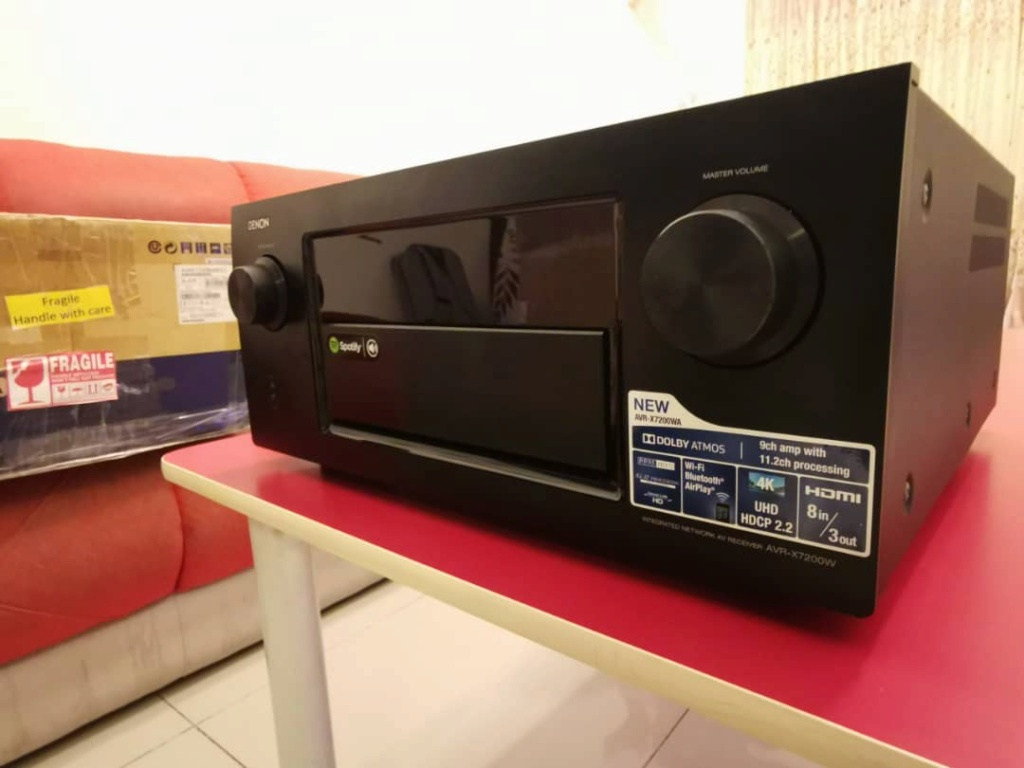 Denon AVR-X7200WA Atmos Made in Japan Flagship (used & in great condition) Whatsa10