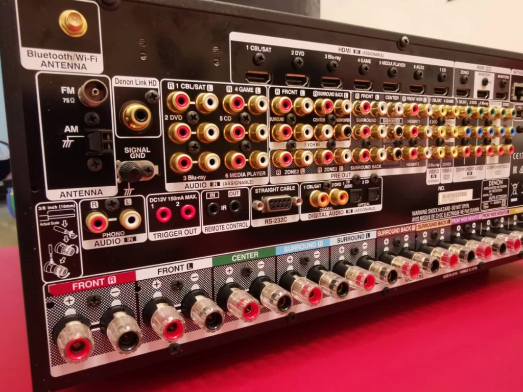 Denon AVR-X7200WA Atmos Made in Japan Flagship (used & in great condition) Whatsa17