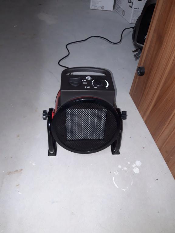 Cherche solution pour chauffer un garage 20201210