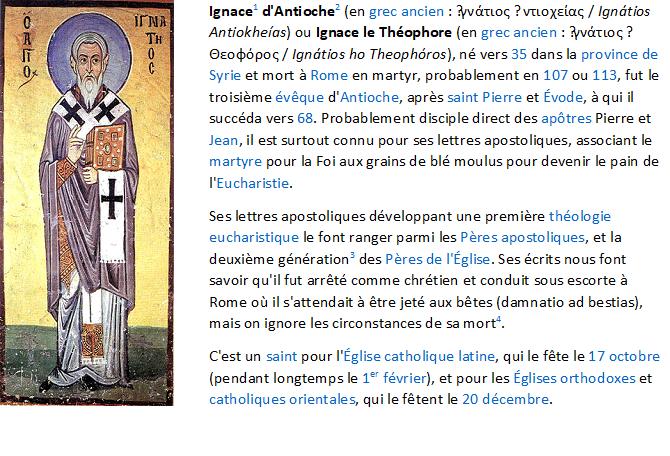 Jésus selon une Juive messianique  - Page 6 Ignace10