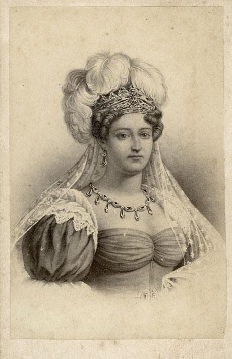 Etonnant portrait de la Duchesse d'Angoulême 30043311
