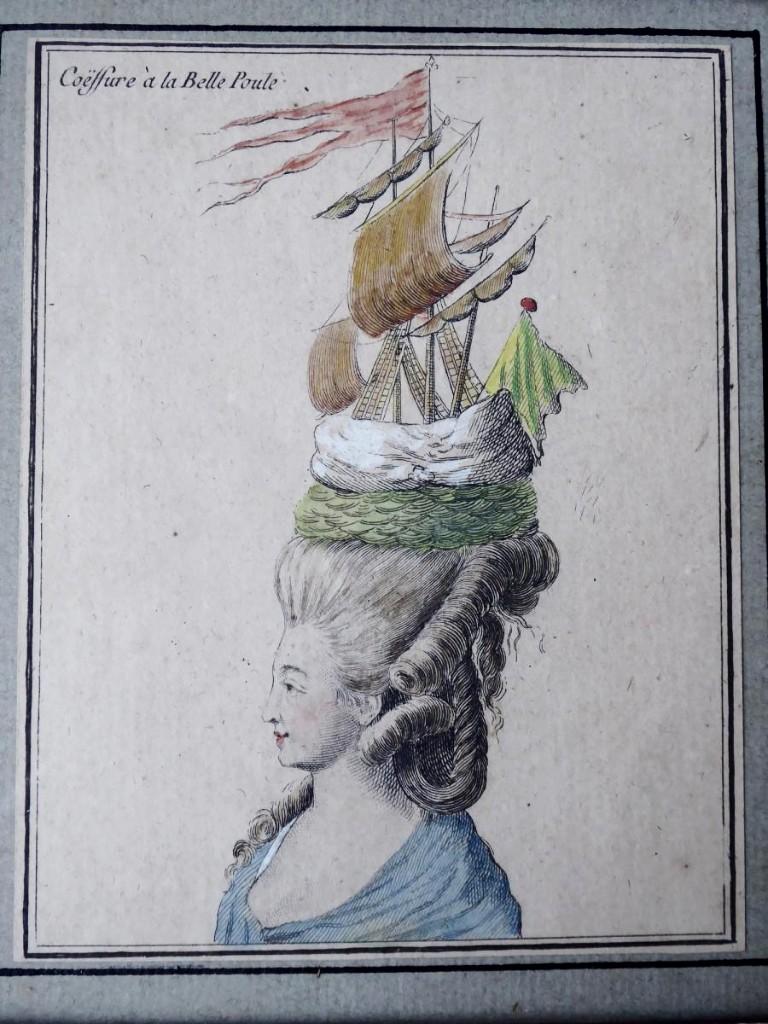 Coiffures du XVIIIeme: poufs, postiches, bonnets et chapeaux - Page 19 40343410