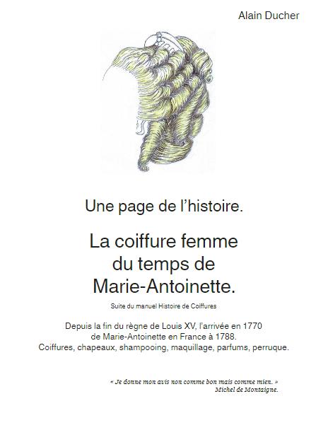 Recueil de coiffures femme du temps de Marie-Antoinette Zducre11