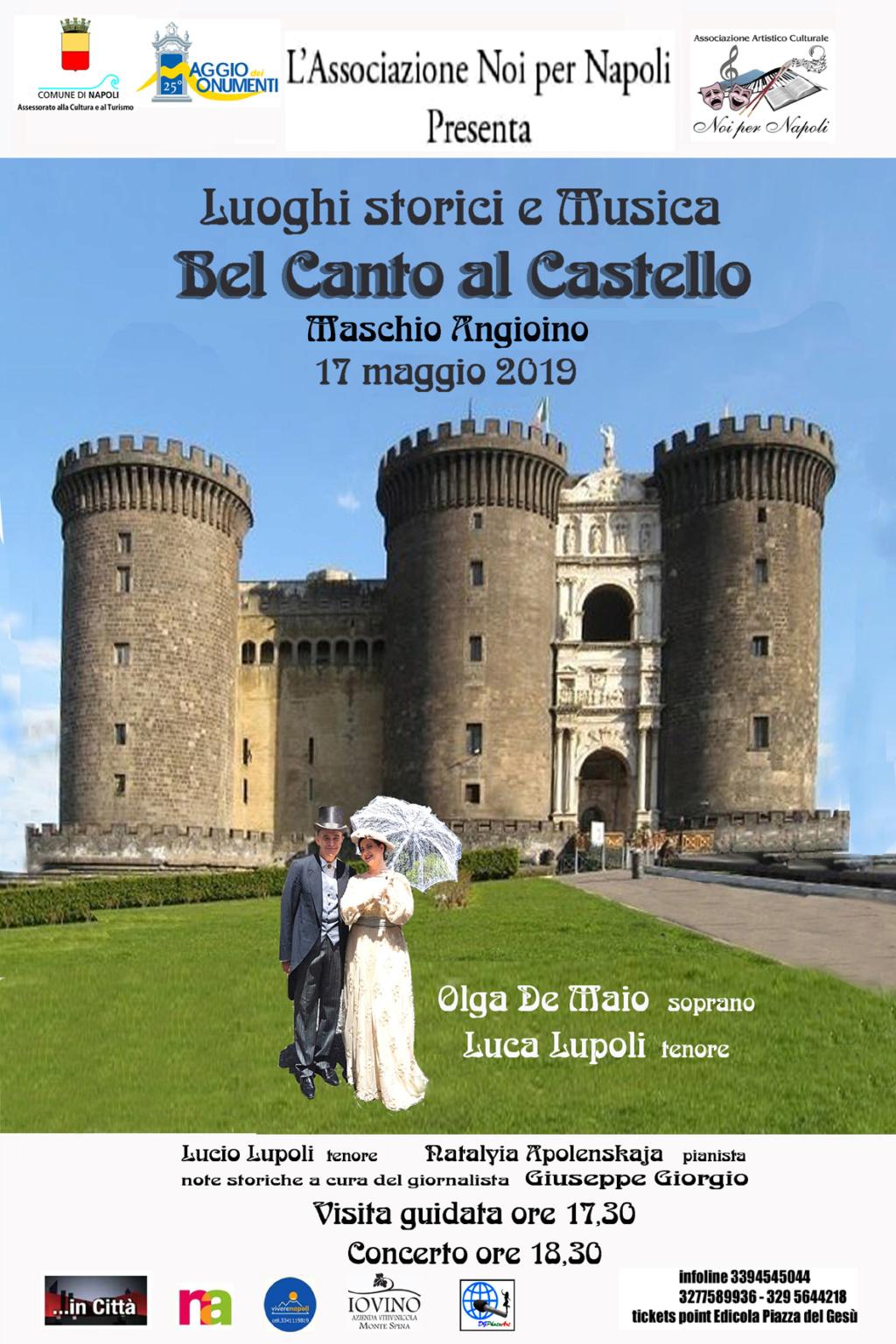 Bel Canto al Castello per il Maggio 2019 dei Monumenti Maschio Angioino  15567613