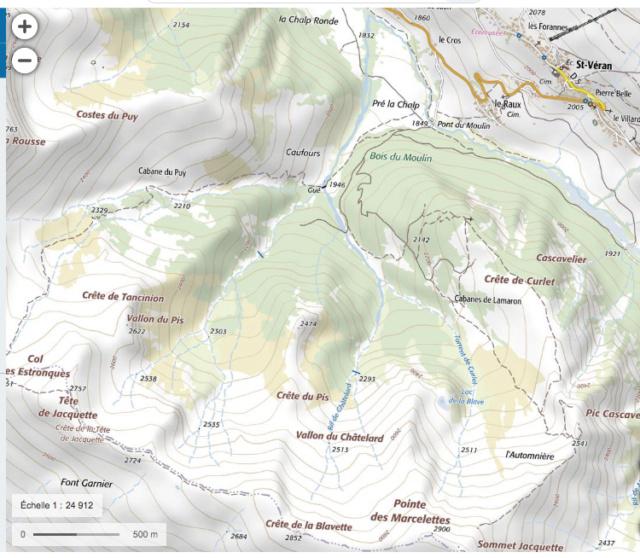 """Noms de ces """"zones"""" montagnardes du Queyras Captu229"""