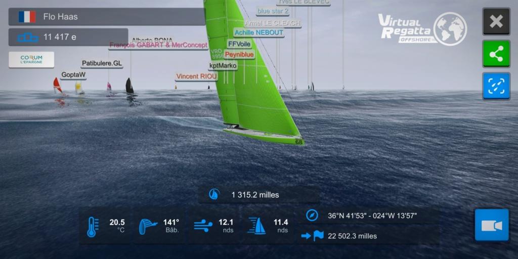 virtual regata vendée globe  Screen10