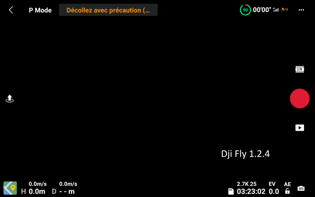 L' APPLI DJI FLY (versions) Screen10