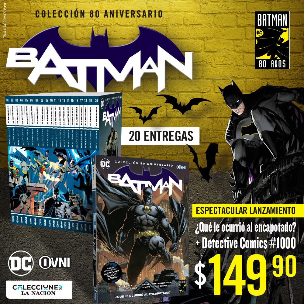 1000 - [La Nación - Ovni-Press] Colección Batman: 80 aniversario Aviso_10