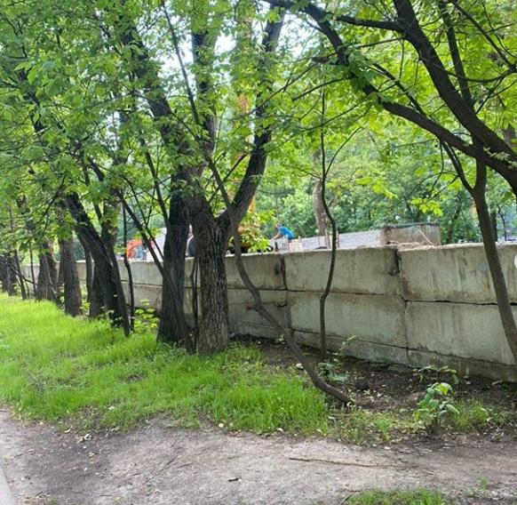 """Собственный парк на прилегающей территории ЖК """"Летний сад"""" A_a11"""