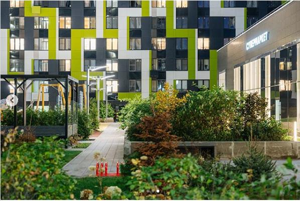 """Изображения ЖК """"Летний сад"""" (визуализации фасадов - общие виды проекта) E_310"""