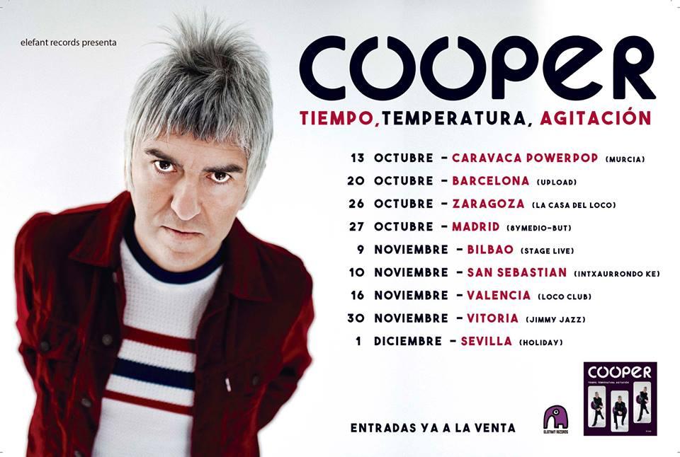 Agenda de giras, conciertos y festivales Cooper10