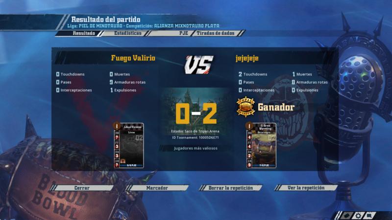 Liga Alianza Mixnotauro 1 - División Cuerno de Plata / Jornada 5 - hasta el domingo 7 de abril Bb16