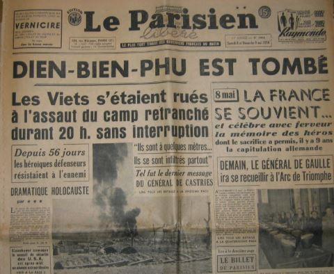 Dien Bien Phu la chute du camp retranché français le 7 mai 1954 310