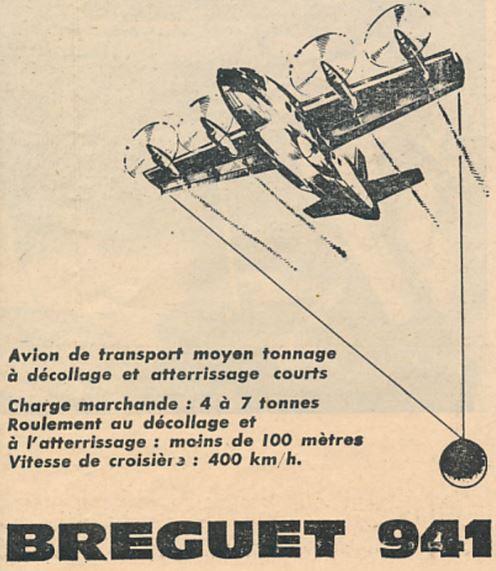 Breguet Br 940/941 Br10