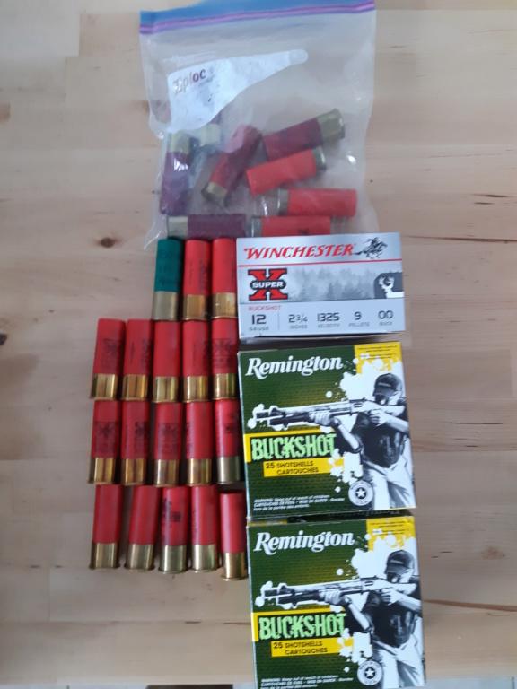 Lot de 63 Buckshot Calibre 12 + 8 munition varier + caisse de munition Flambeau Muniti11