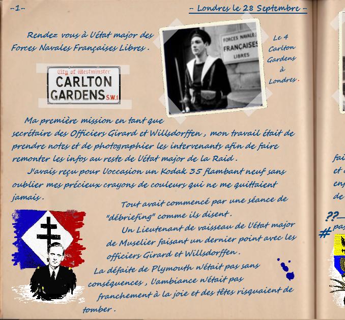 Carnet de notes du Major Vincent Devillard  0110