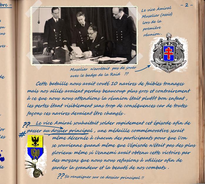 Carnet de notes du Major Vincent Devillard  0210