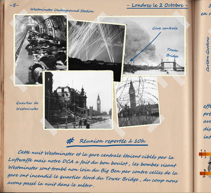 Carnet de notes du Major Vincent Devillard  0510