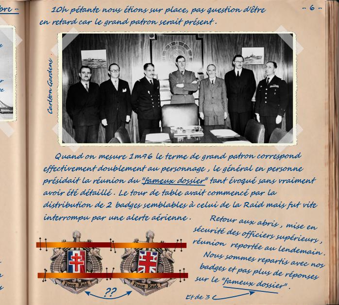 Carnet de notes du Major Vincent Devillard  0610