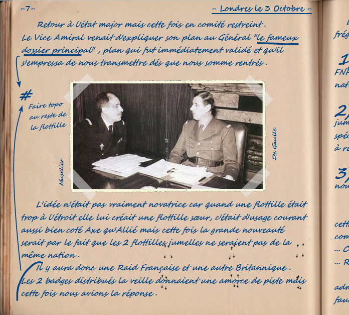 Carnet de notes du Major Vincent Devillard  0710