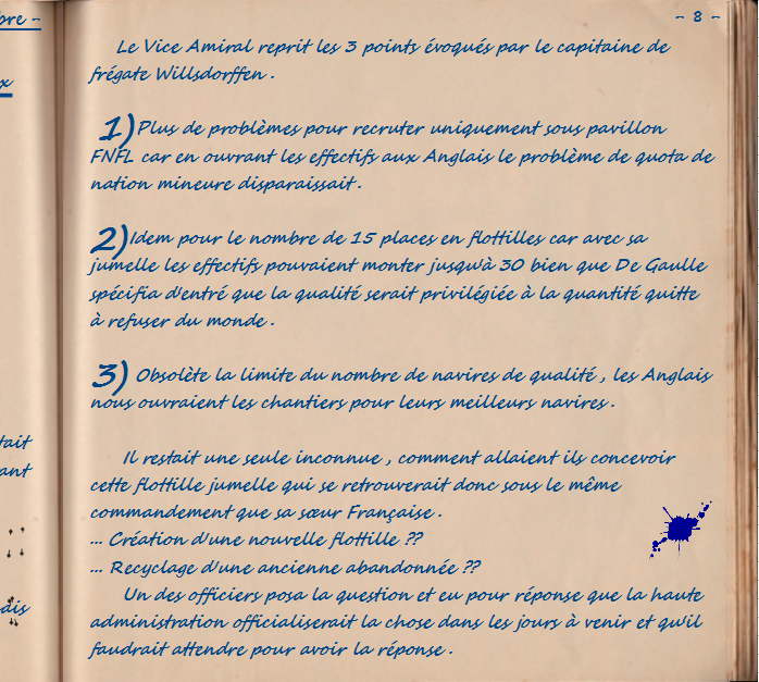 Carnet de notes du Major Vincent Devillard  0810