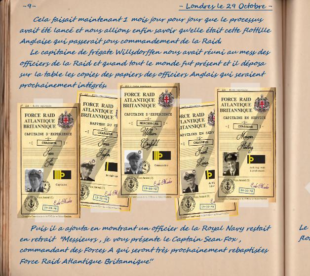 Carnet de notes du Major Vincent Devillard  0910