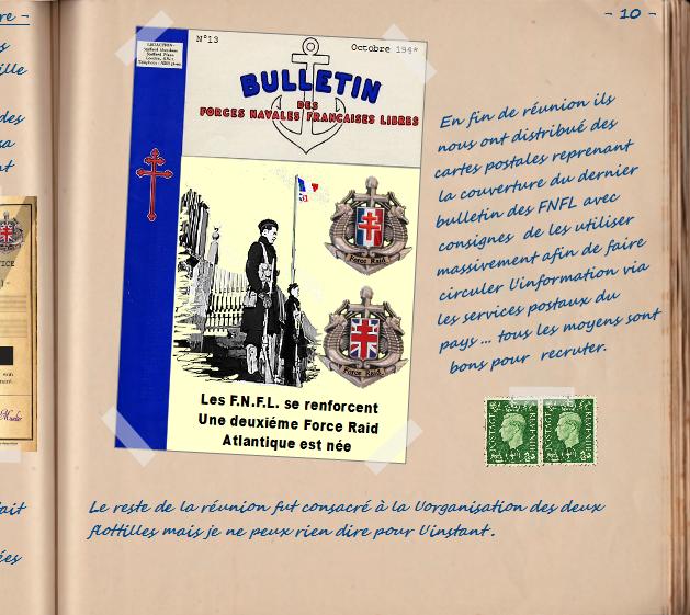 Carnet de notes du Major Vincent Devillard  1010