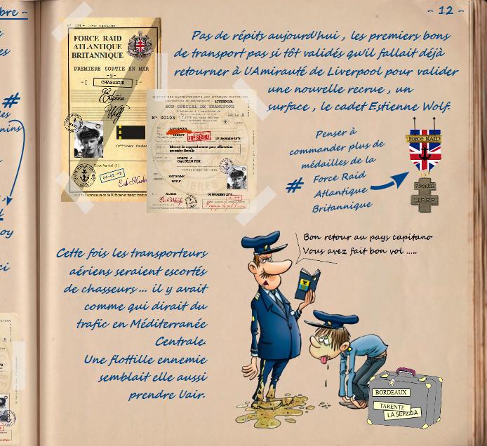 Carnet de notes du Major Vincent Devillard  1210