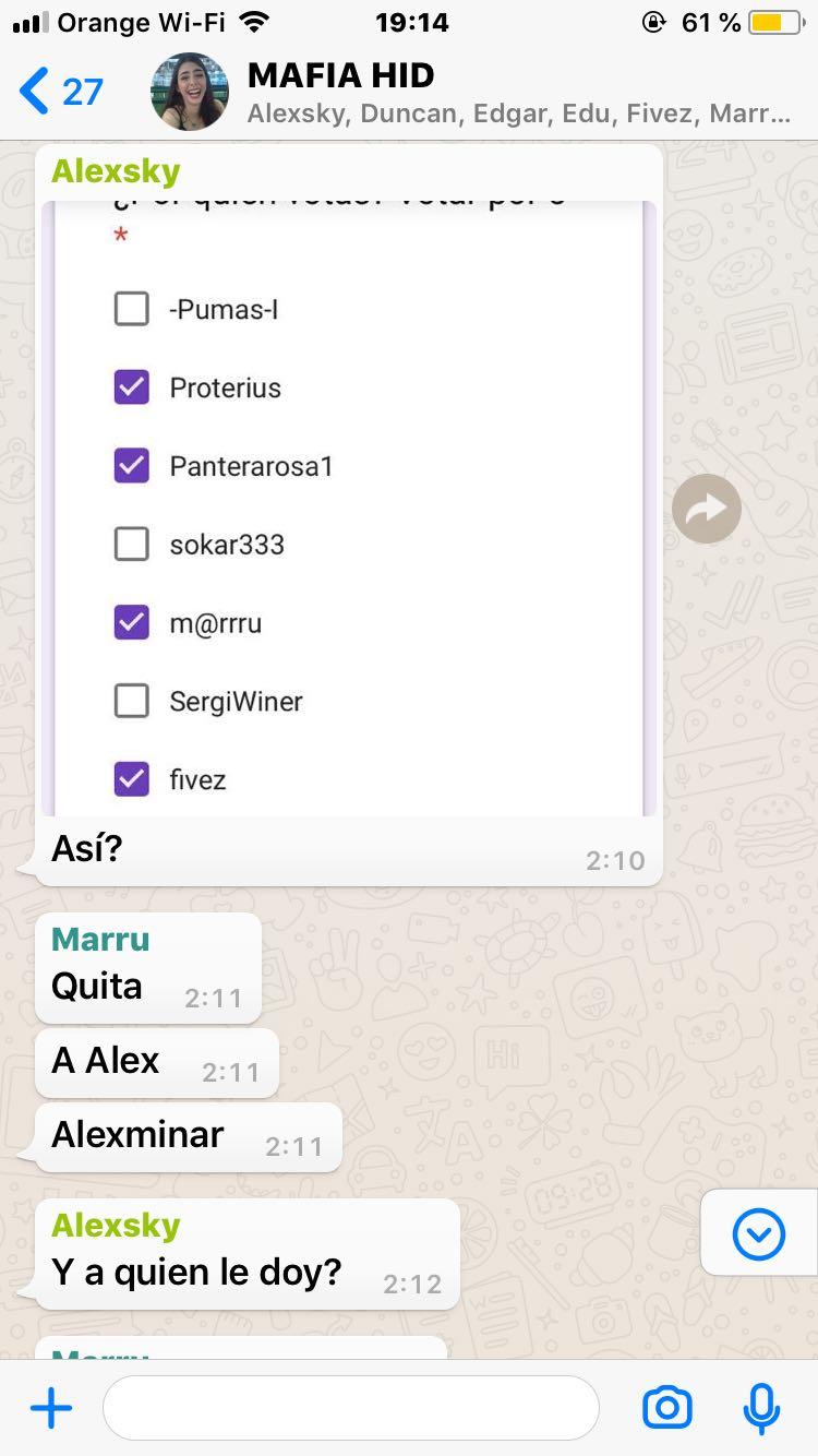 """MAFIA HID"" Img-2019"