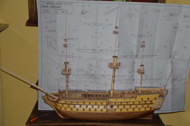 H.M.S Victory 1:98 Mantua Model - Page 2 Maquet16