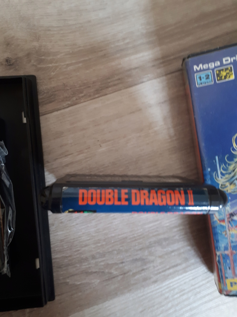 [VDS] MD  double dragon 2 jap sans notice vendu 20190313