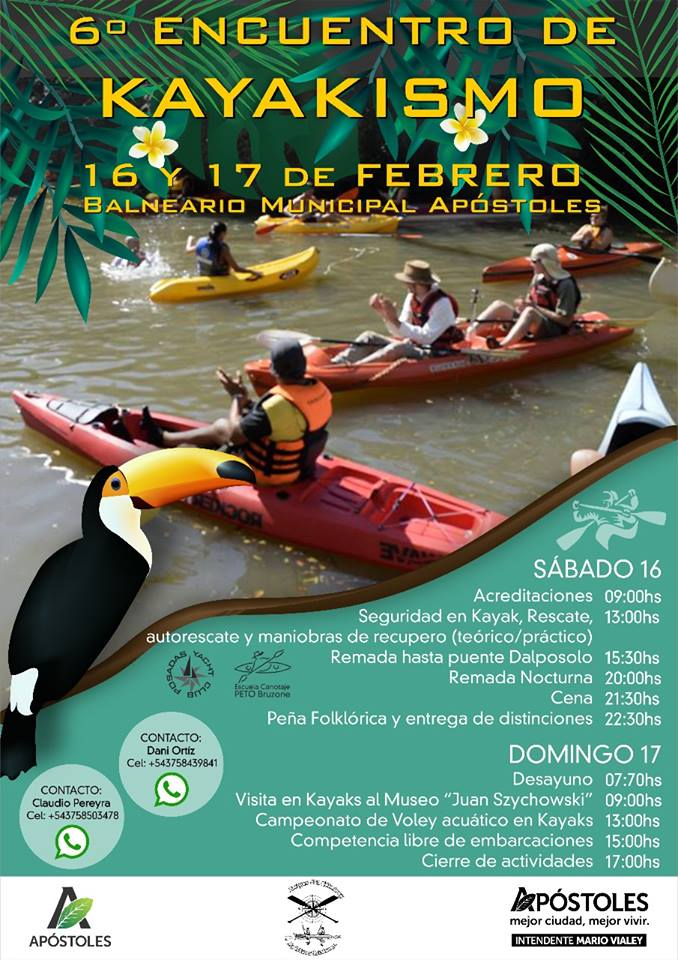 Encuentro de Piraguas y Kayaks Chimiray Apóstoles 50084410