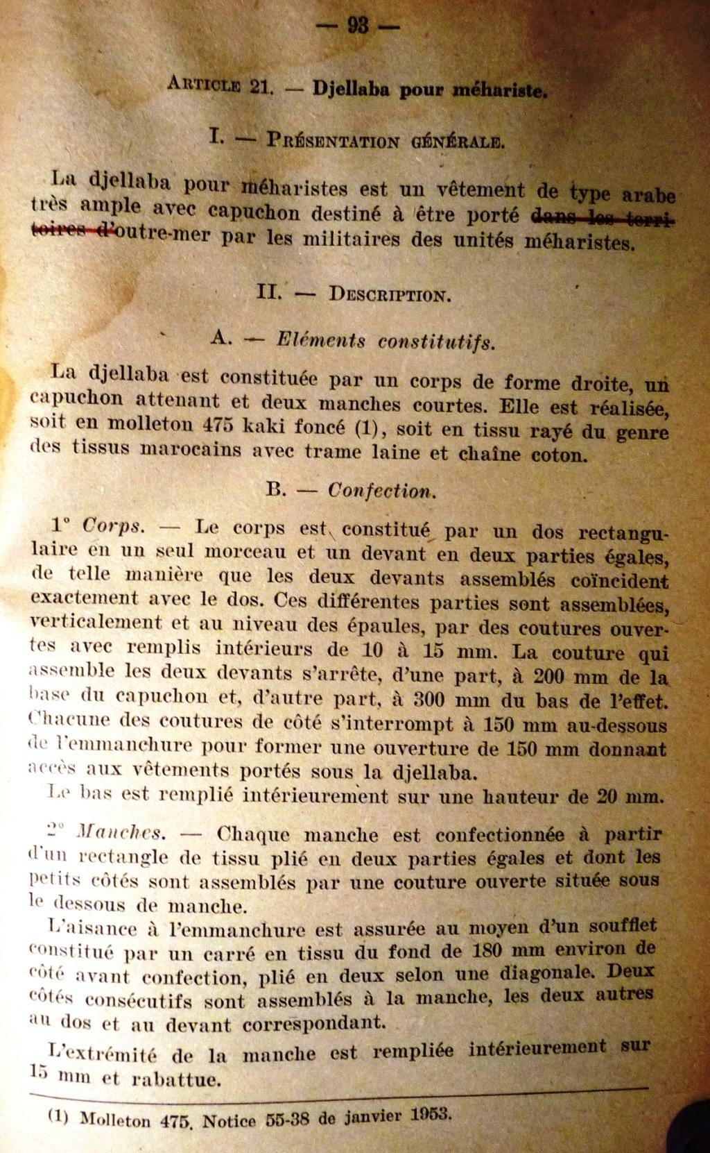 """Recherche """"instructions relatives aux tenues et uniformes"""" de 1958 00211"""