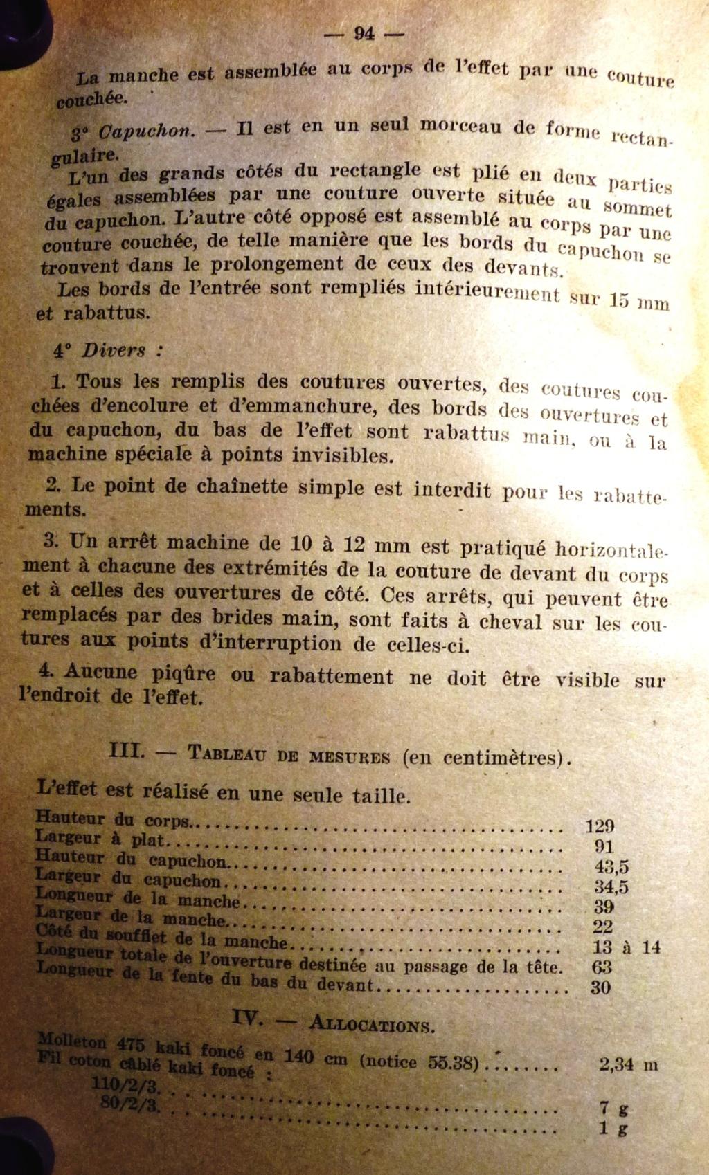 """Recherche """"instructions relatives aux tenues et uniformes"""" de 1958 00310"""