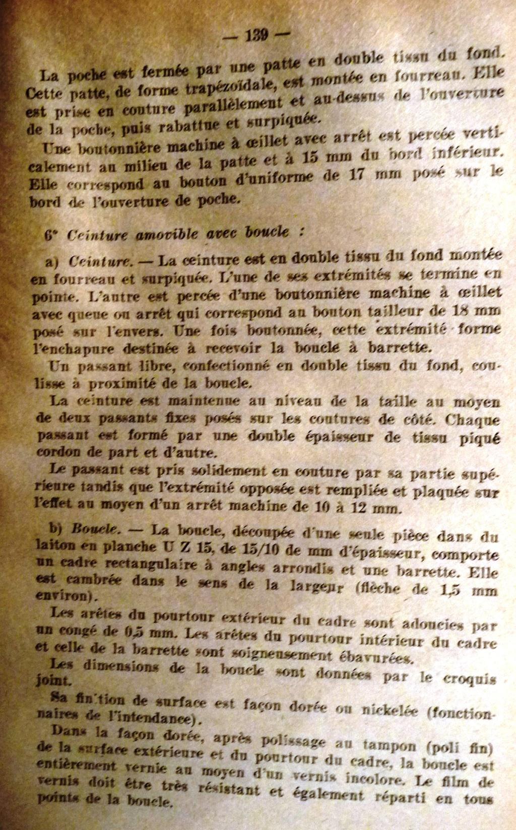 """Recherche """"instructions relatives aux tenues et uniformes"""" de 1958 01310"""