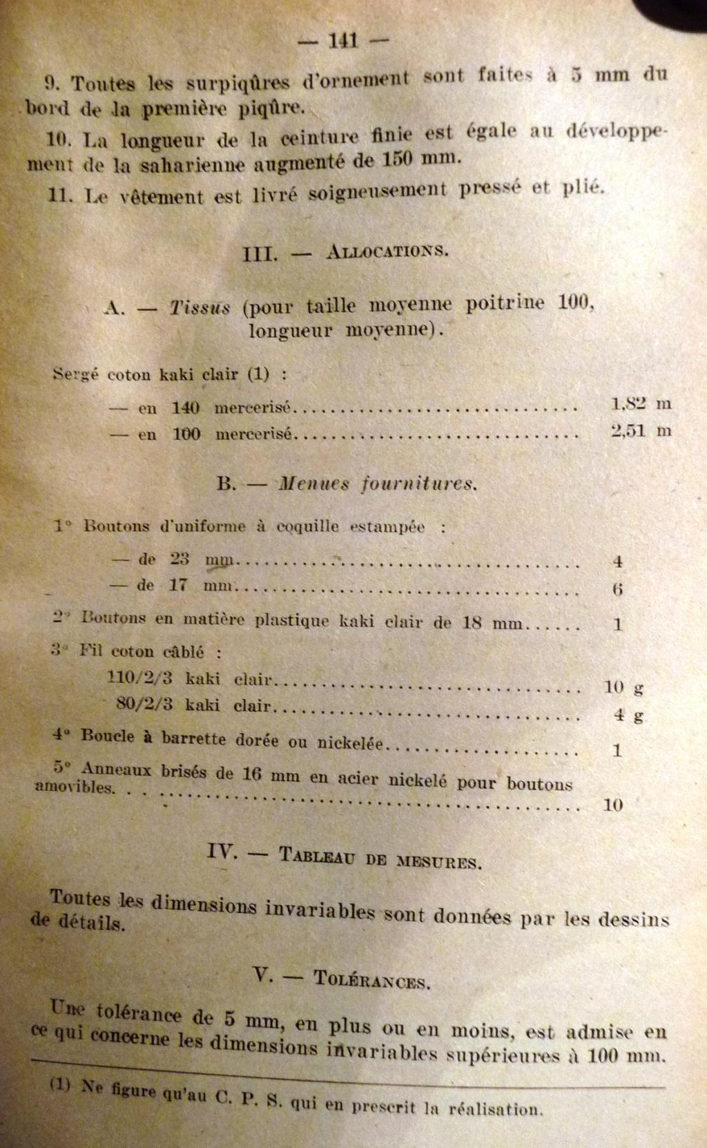 """Recherche """"instructions relatives aux tenues et uniformes"""" de 1958 01510"""