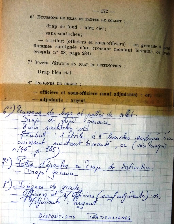 """Recherche """"instructions relatives aux tenues et uniformes"""" de 1958 Affal_11"""