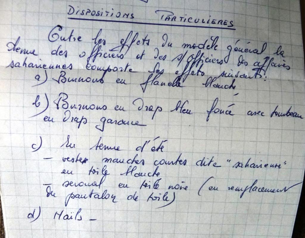 """Recherche """"instructions relatives aux tenues et uniformes"""" de 1958 Affal_12"""