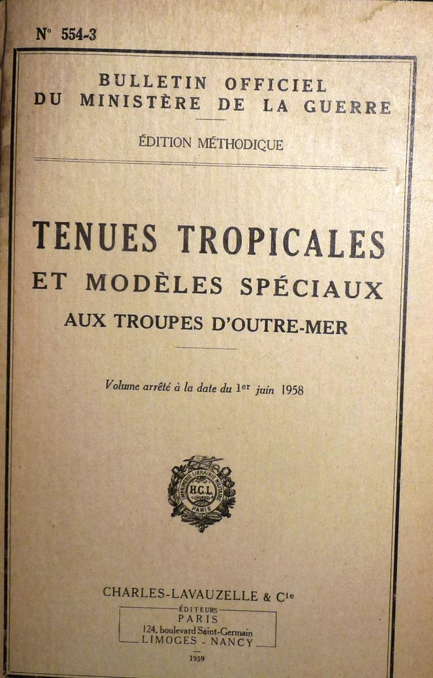 BO  JUIN 1958 -  Tenues tropicales Bo_n_514