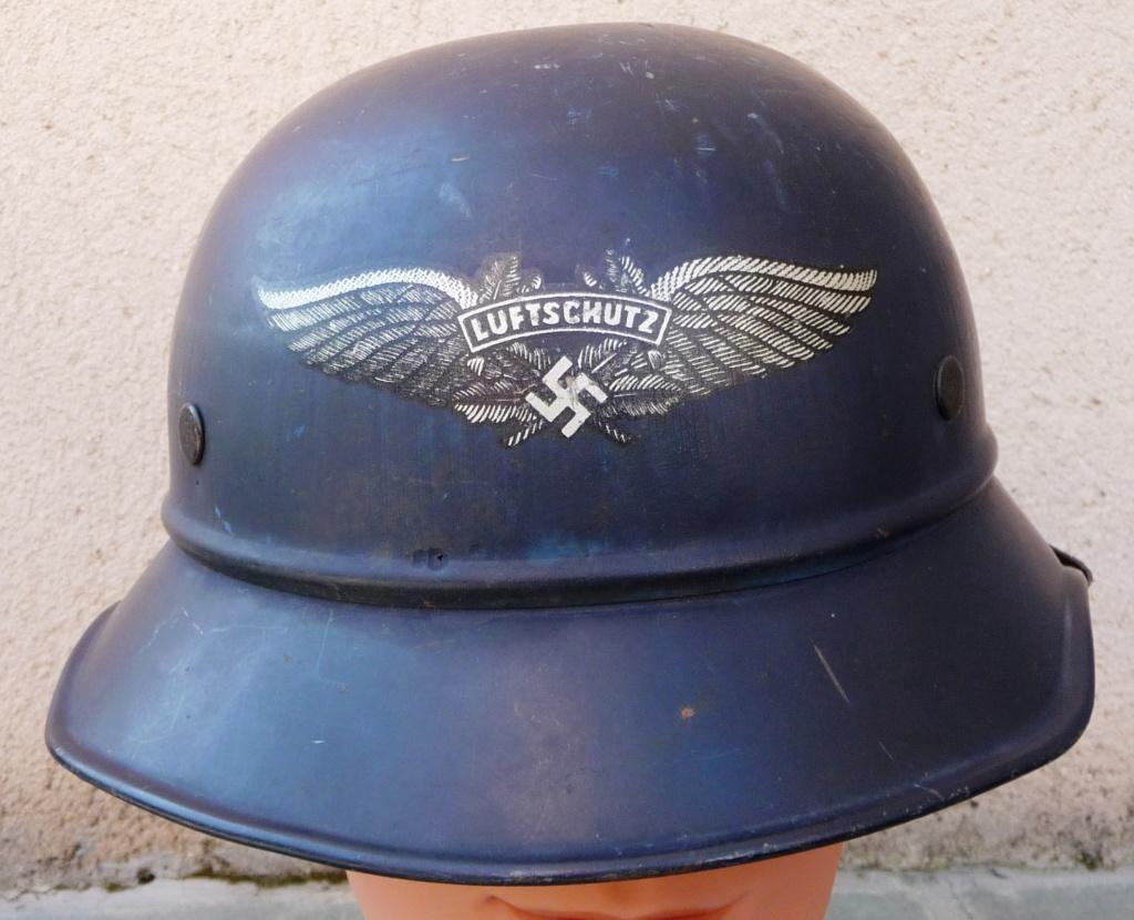 casque de la luftschutz Calu110