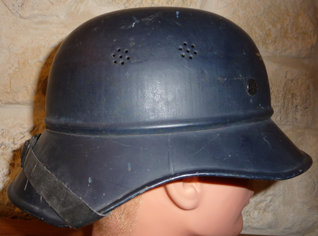 casque de la luftschutz Caluf410