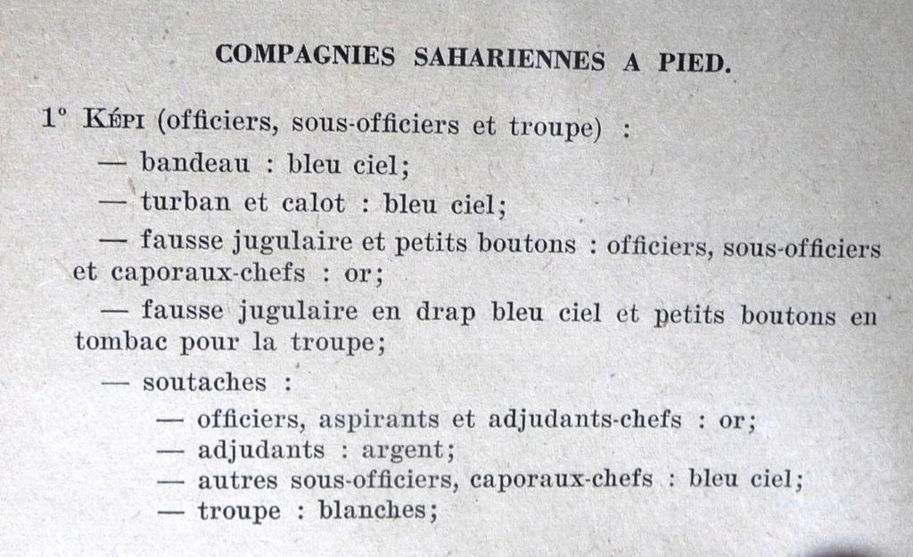 """Recherche """"instructions relatives aux tenues et uniformes"""" de 1958 Cosa_010"""