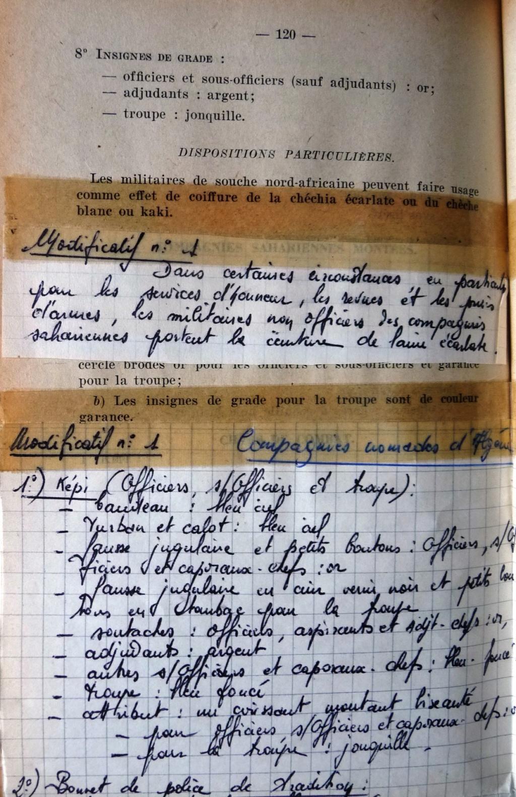"""Recherche """"instructions relatives aux tenues et uniformes"""" de 1958 Cosa_012"""