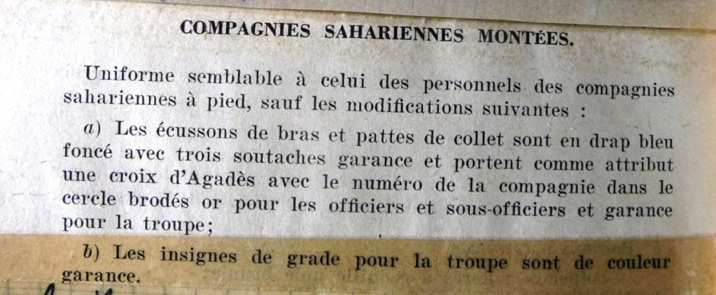 """Recherche """"instructions relatives aux tenues et uniformes"""" de 1958 Cosamo10"""