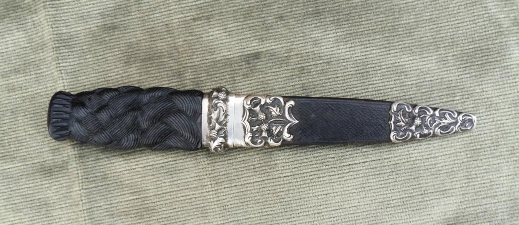 couteau écossais  SGIAN DUBH Ecossa11