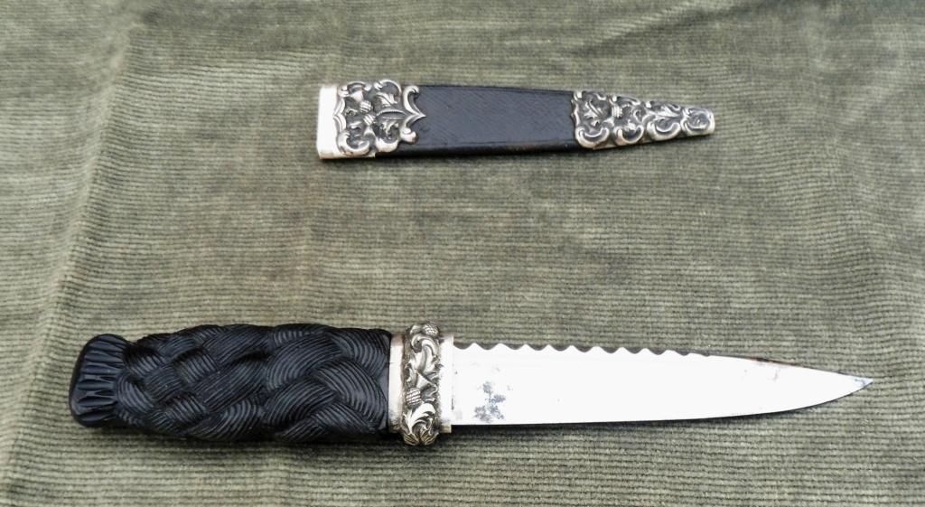 couteau écossais  SGIAN DUBH Ecossa13