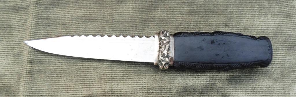 couteau écossais  SGIAN DUBH Ecossa14