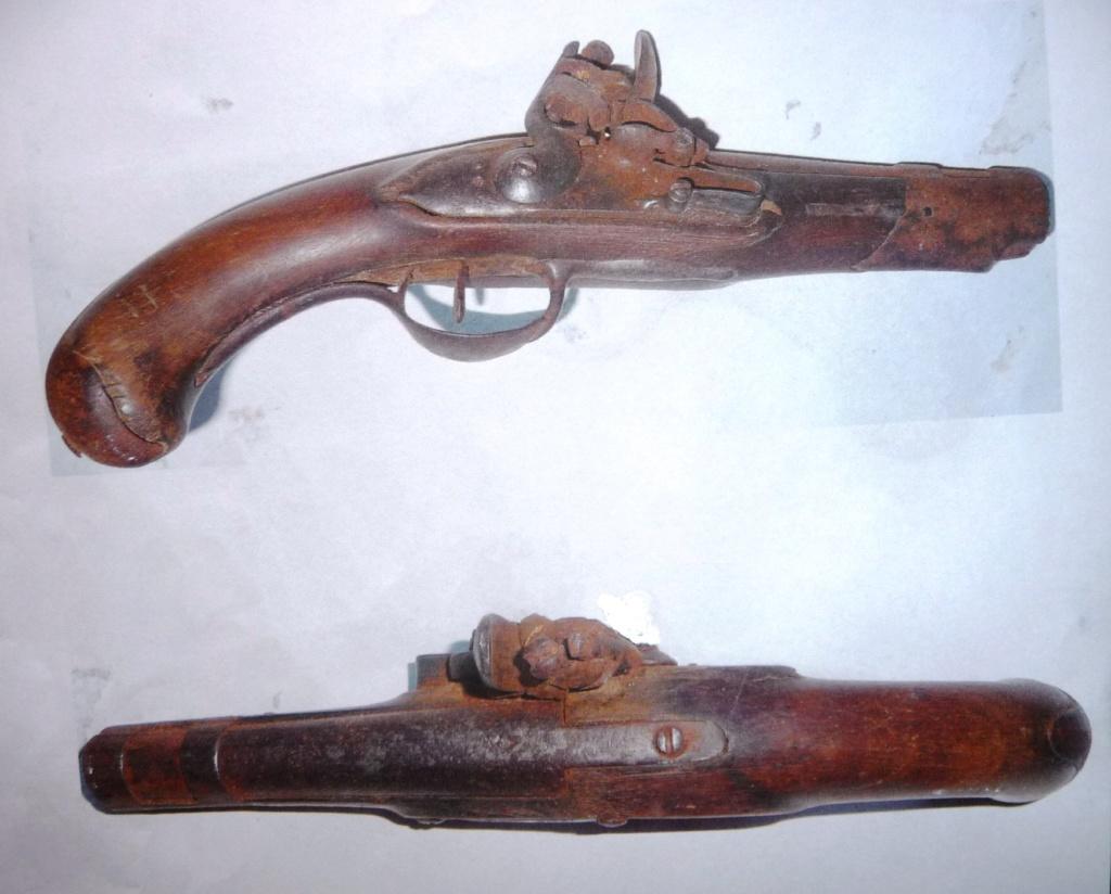 trouvaille d'un pistolet à silex Genrev10