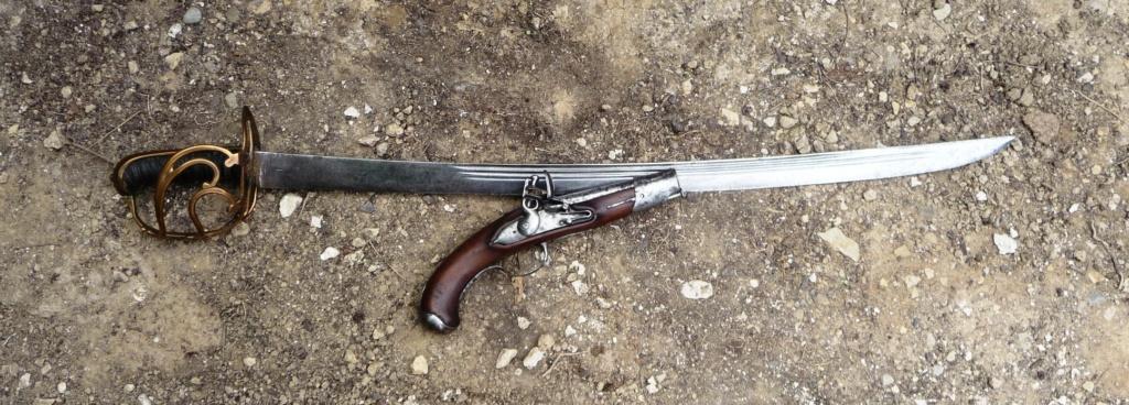 trouvaille d'un pistolet à silex Genrev17