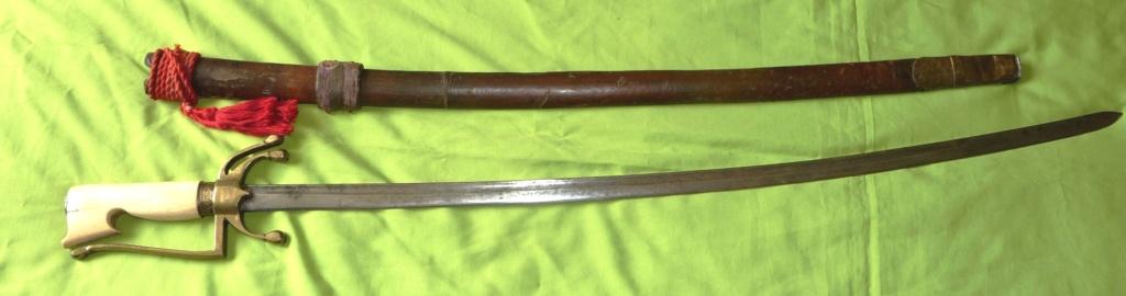"2 sabres marocains ""nimchas"" Nimc410"